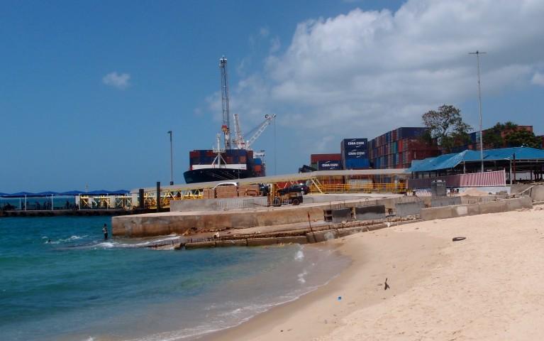 Zanzibar ferry terminal