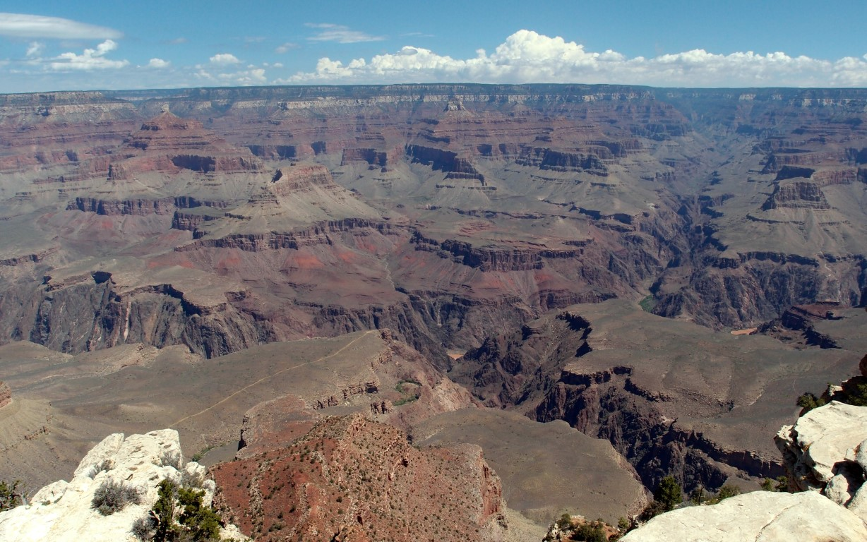 Grand Canyon - view from the Mather Point