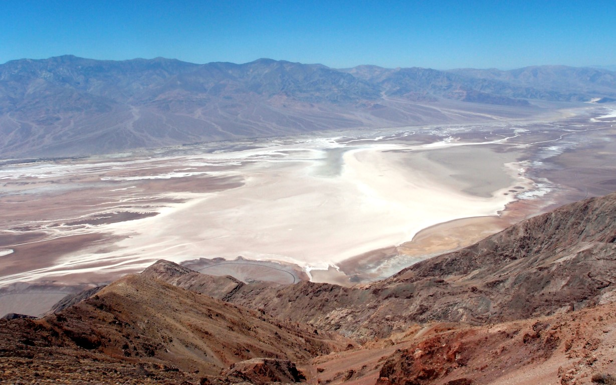 The Death Valley - Dante's View