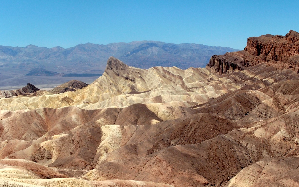 The Death Valley - Zabriskie Point