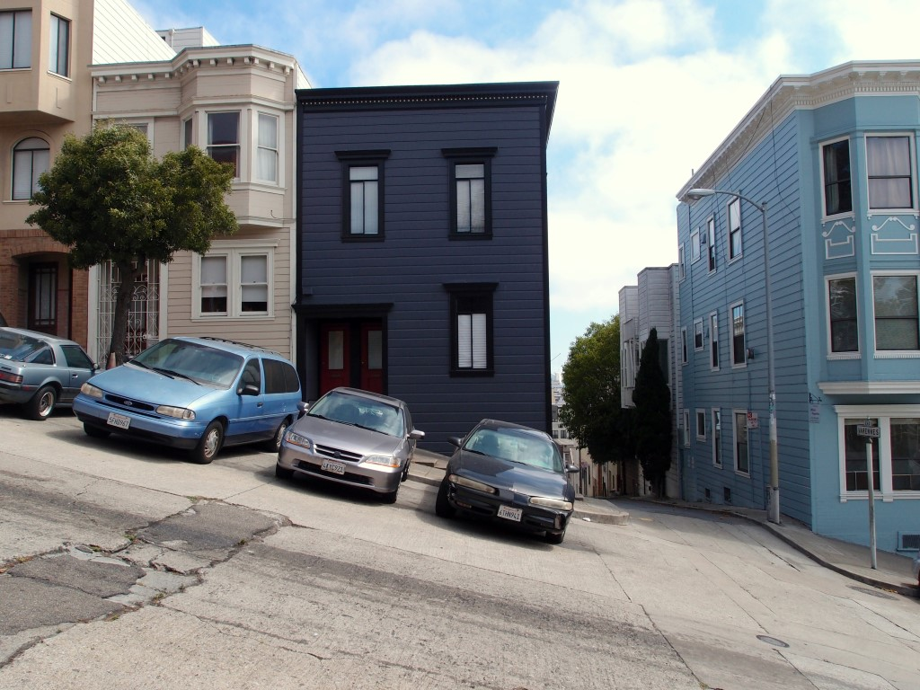Steep San Francisco streets