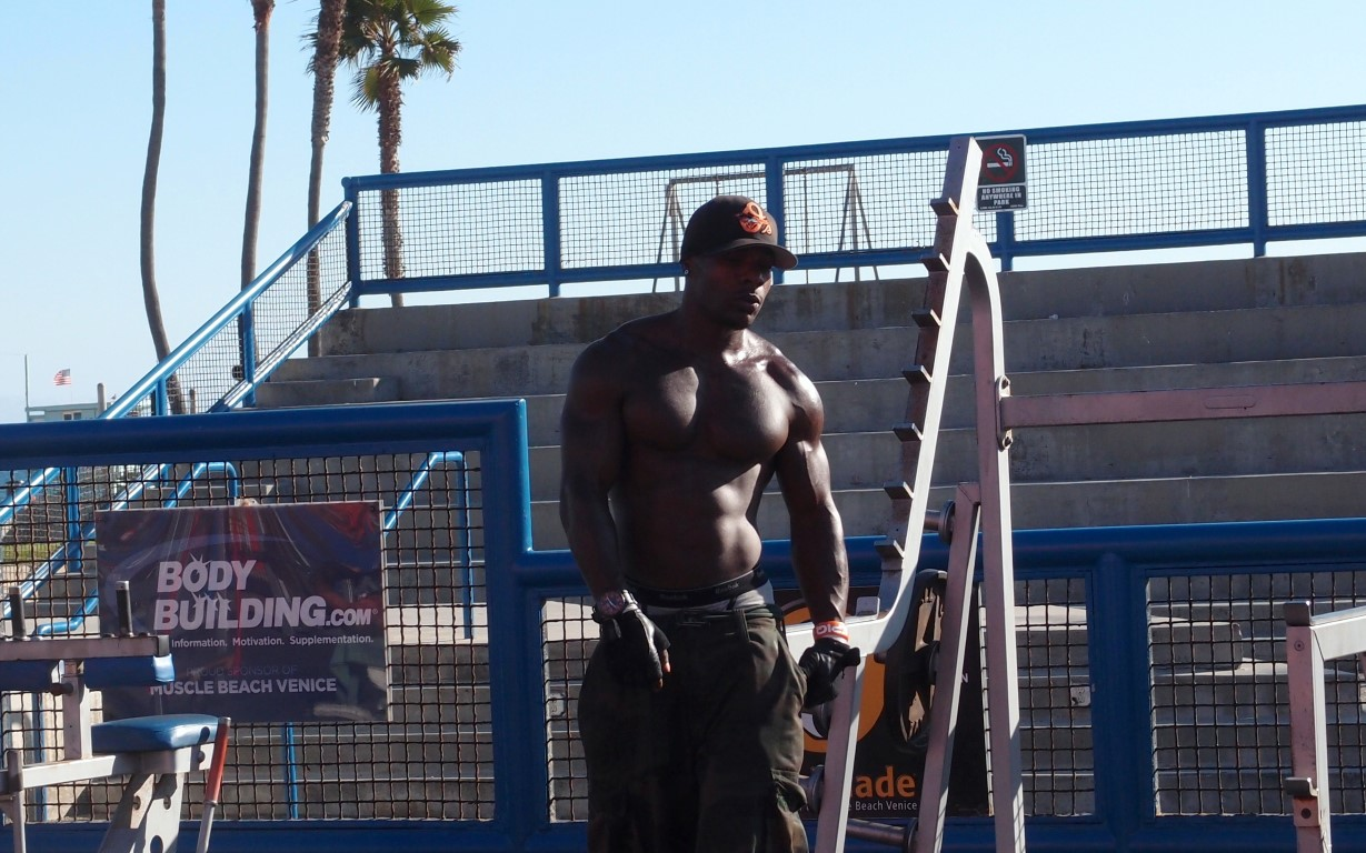 Muscle Beach at Venice Beach