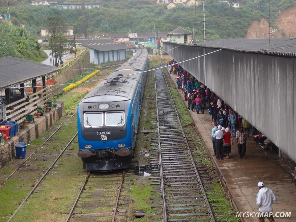 Nuwara Eliya train station
