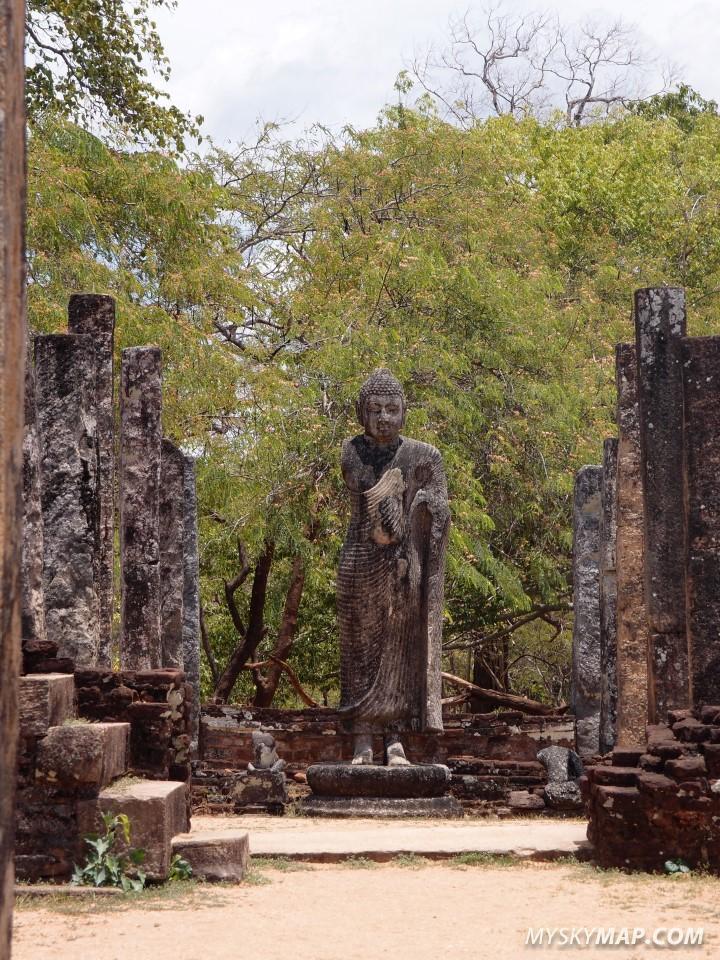 Temple in Polonnaruwa