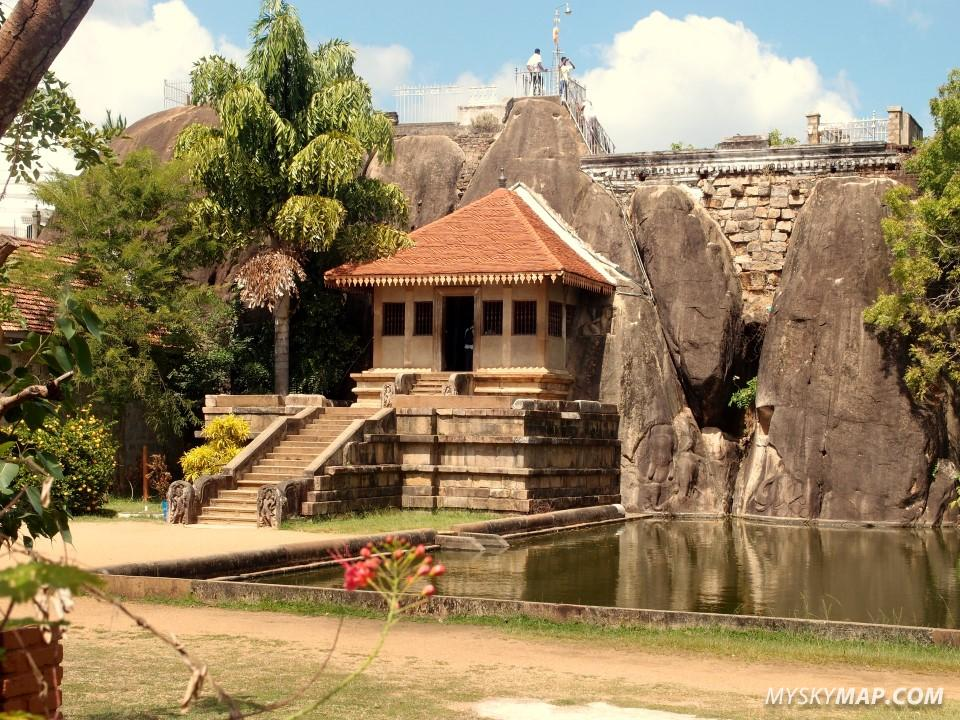 One of the temples in Anuradhapura