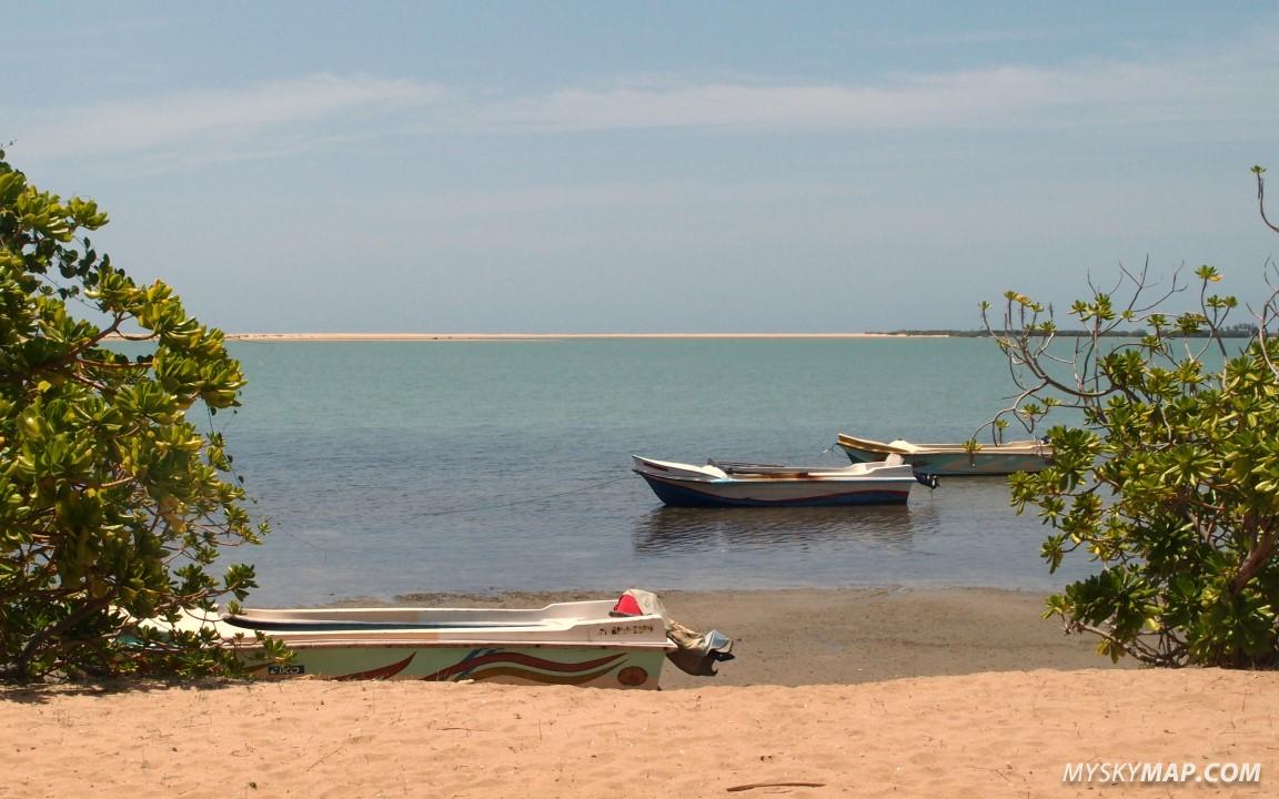 Kalpitiya lagoon - view form Sri Lanka Kite