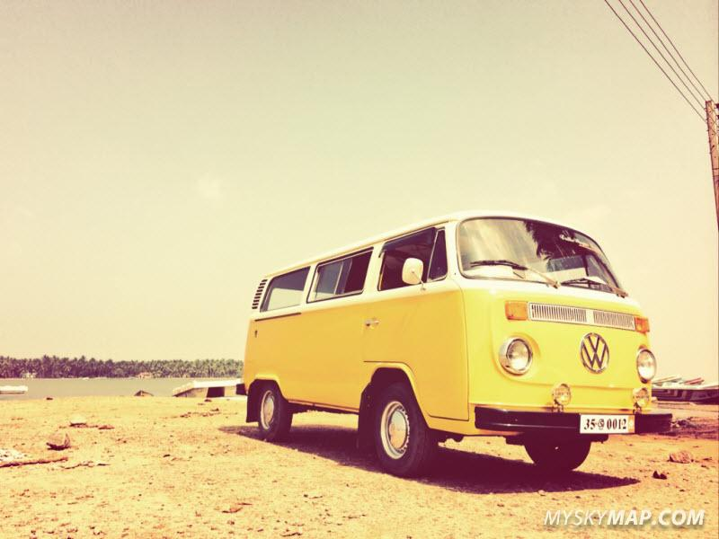 Stylish VW T2 used by Ruuk village for Airport pickup (photo from RV website)