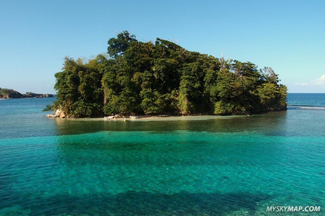 Blue Lagoon - nearby island