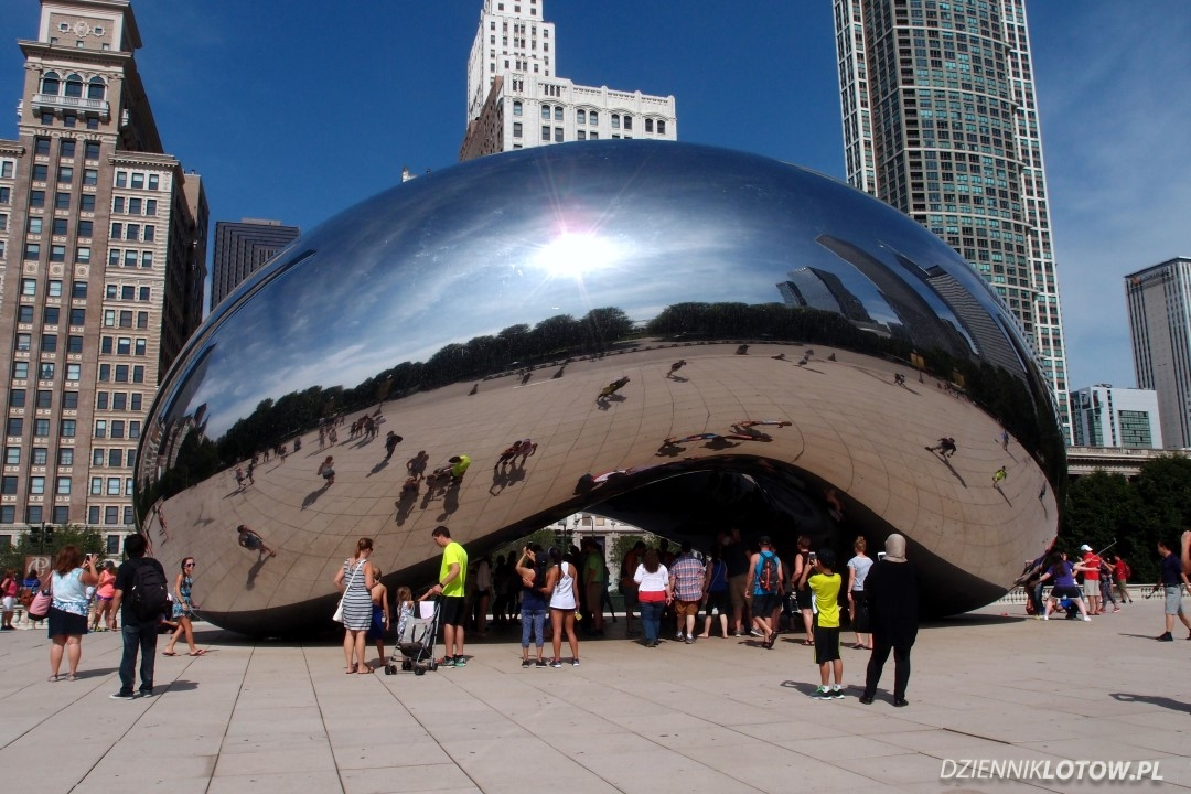 Cloud Gate - famous Chicago bean