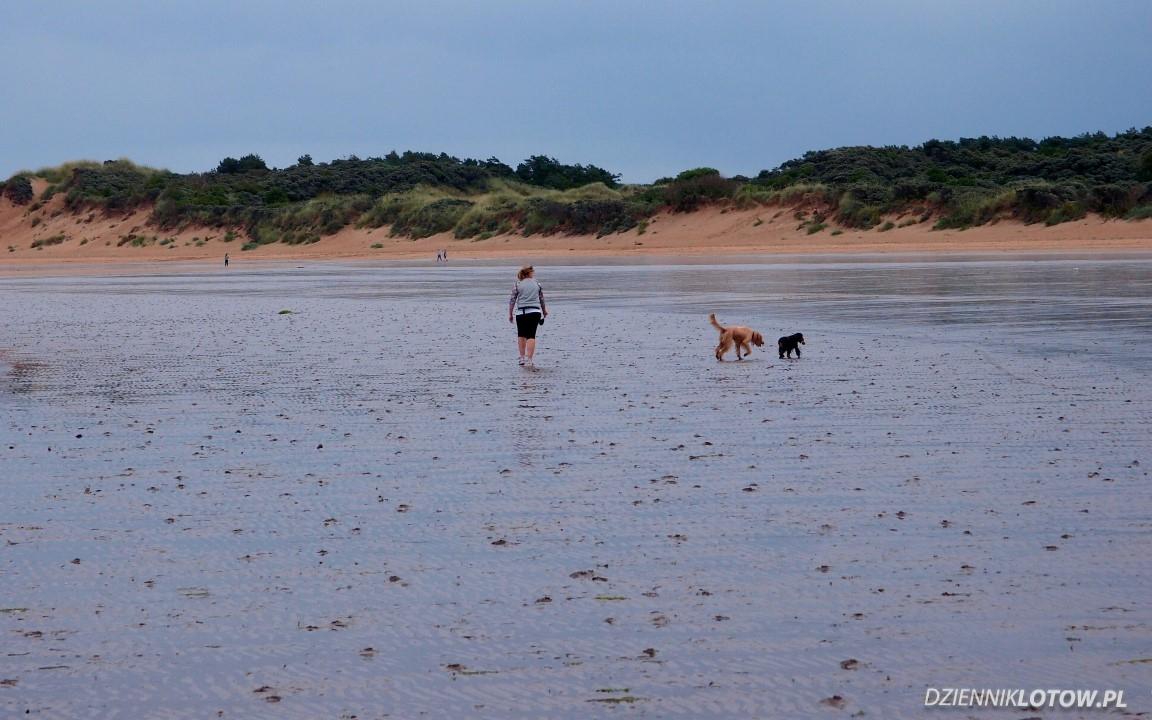 Walk on the Gullane beach